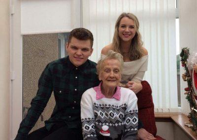 Ann's Kids & Mom