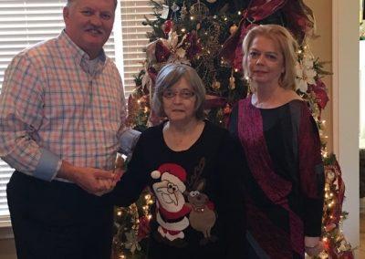 Kathy, Mom & Brother